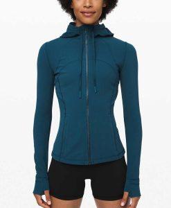 Virgin River Season 02 Melinda Monroe Blue Hooded Jacket