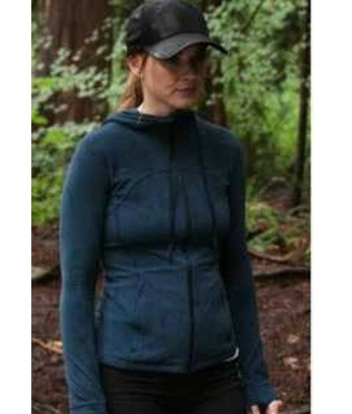 Virgin River Season 02 Alexandra Breckenridge Blue Hooded Jacket
