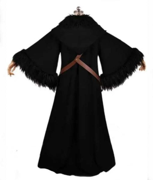 Wonder Woman 1984 Cloak With Fur Trim