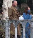 Across The River & Into The Trees Liev Schreiber Wool-blend Coat