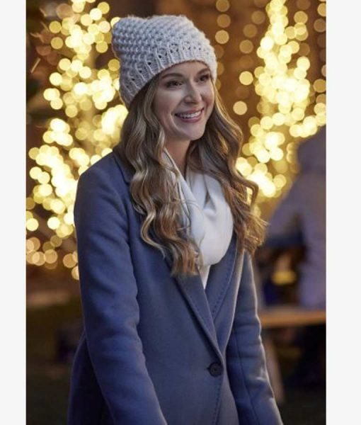 Alexa PenaVega Taking a Shot at Love Jenna Trench Coat