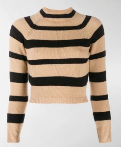 Anna Kendrick Love Life Striped Sweater