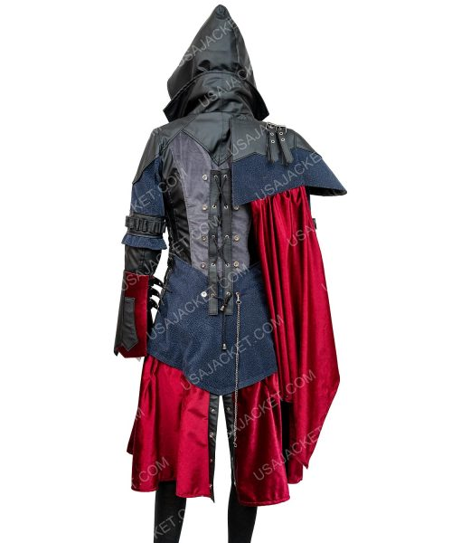 Assassin's Creed Syndicate Evie Frye Leather Mid-length Coat