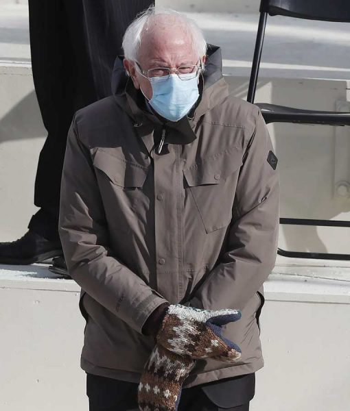 Bernie Sanders Jacket With Hood