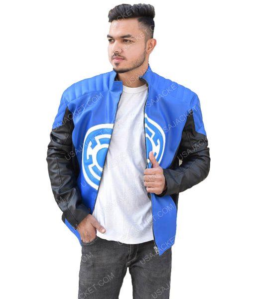 Men's Cafe Racer Style Leather Jacket