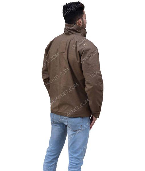 Cotton Brown Jacket