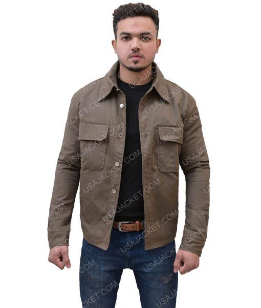 Men's Dark Cotton Jacket
