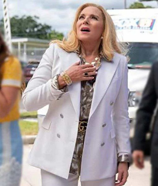 Filthy Rich 2020 Margaret Monreaux White Peacoat