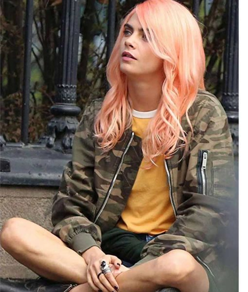 Life In A Year Cara Delevingne Camouflage Jacket
