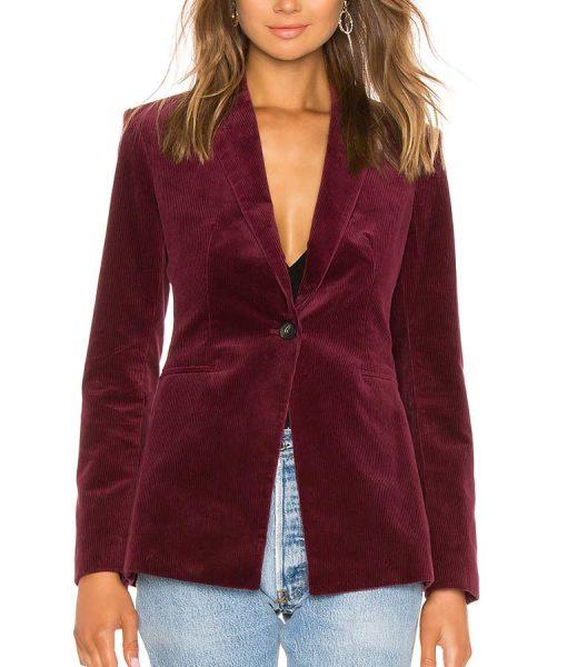 Zoey's Extraordinary Playlist Zoey Clarke Blazer Coat