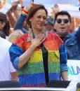 Kamala Harris Rainbow Jacket
