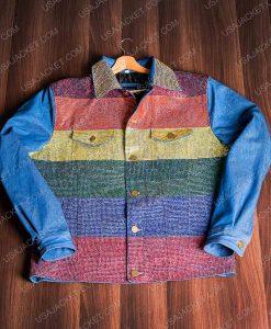 Kamala Harris ainbow Jacket