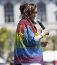 Kamala Harris Rainbow Jacket
