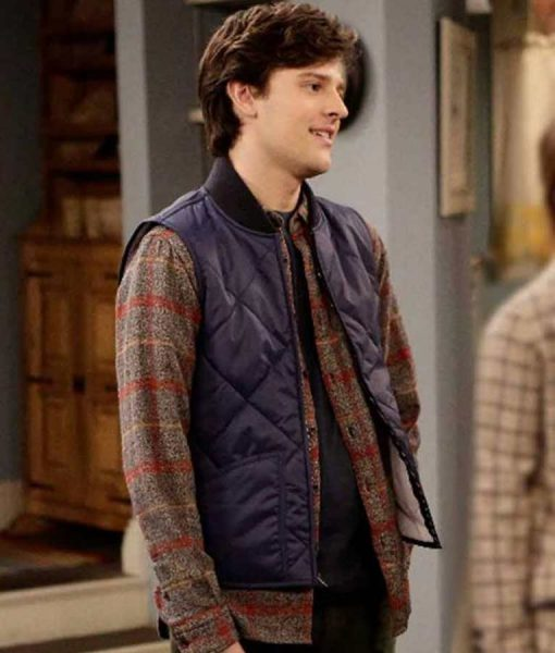 Last Man Standing S09 Travis Tope Quilted Vest