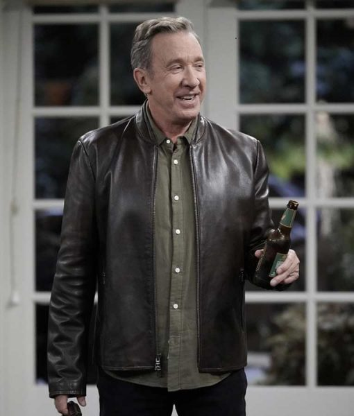 Last Man Standing Tim Allen Leather Jacket
