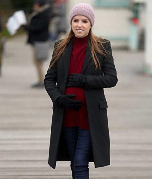 Love Life Anna Kendrick Black Coat
