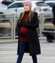 Love Life Darby Black Wool-blend Coat