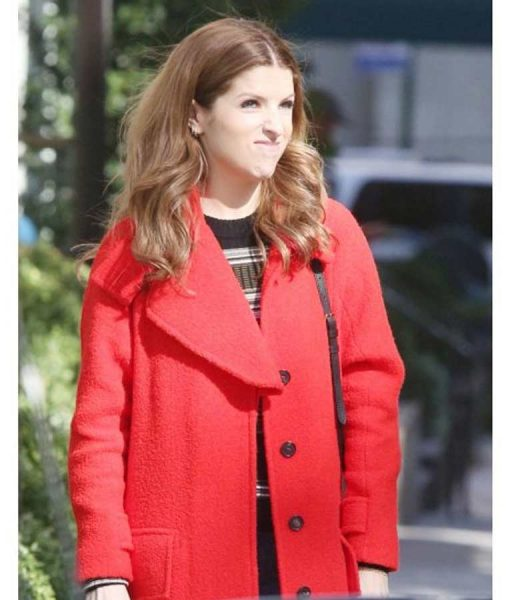 Love Life Darby Red Trench Coat