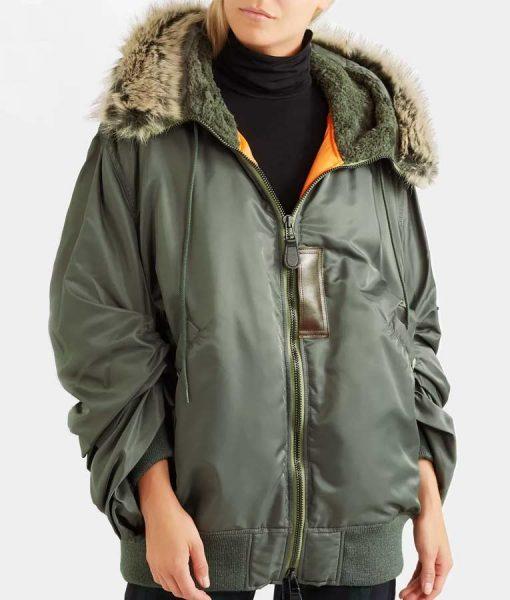 Love Life Sara Yang Parka Jacket With Faux Fur Hood