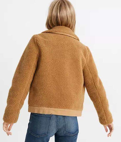 Love life Anna Kendrick Sherpa Jacket