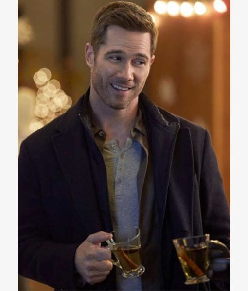 Luke Macfarlane Taking a Shot at Love Coat