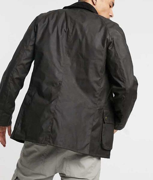 Lupin 2021 Assane Diop Black Cotton Jacket