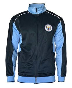 Manchester City Blue and Black Jacket