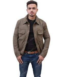 Men's Cotton Double Pocket Jacket
