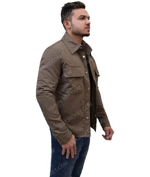 Double Pocket Dark Brown Jacket