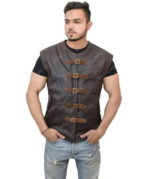 Men's Dark Brown Vest