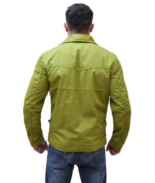Men's Cotton Green Jacket
