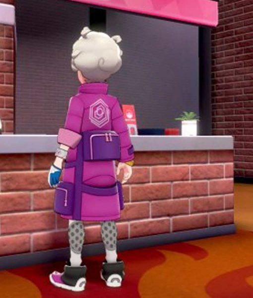 Pokemon Bede Pink Long Jacket