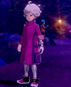 Pokemon Sword and Shield Bede Pink Long Jacket