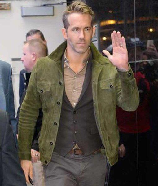 Red Notice Ryan Reynolds Jacket
