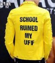 School Ruined My Uff Yellow Jacket