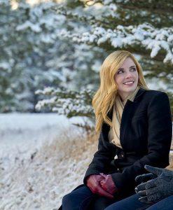 Jen Lilley Snowkissed Coat
