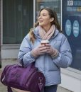Alexa PenaVega Taking a Shot at Love Jenna Puffer Jacket