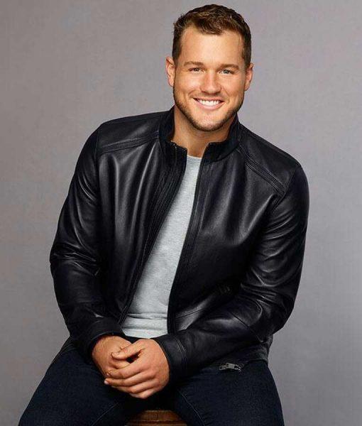 The Bachelor Black Leather Jacket
