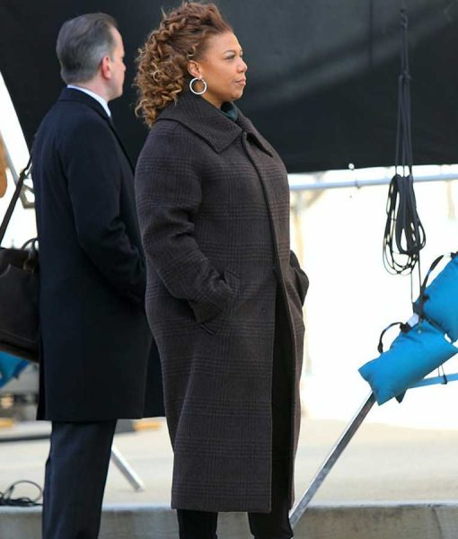 Robyn McCall The Equalizer 2021 Queen Latifah Black Coat
