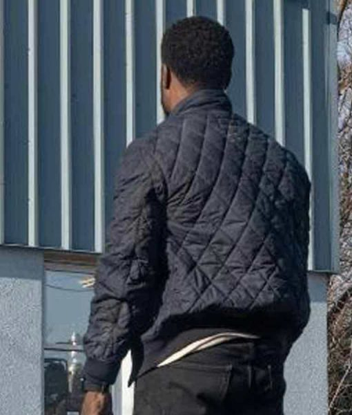 The Man from Toronto Kevin Hart Quilted Jacket