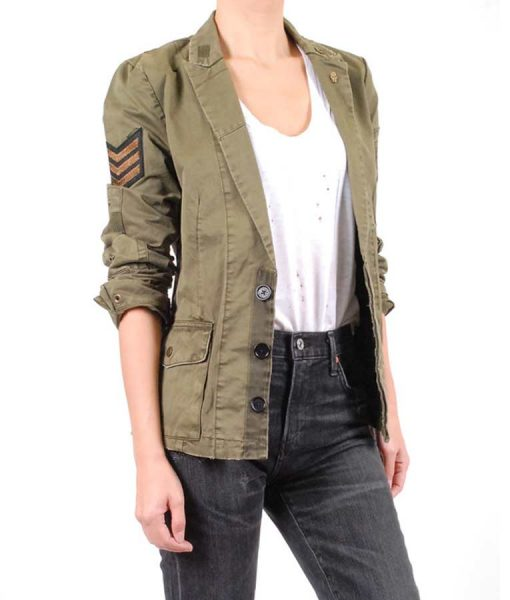 The Rookie Season 03 Nyla Harper Jacket With Patches