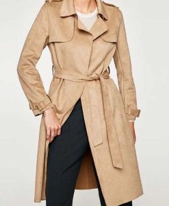 The Young and the Restless Sharon Newman Rosales Suede Coat