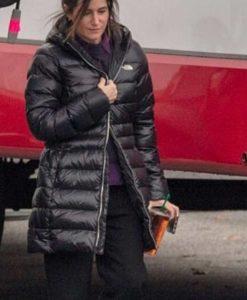 Kathryn Hahn WandaVision Puffer Coat