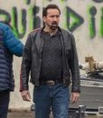 Willy's Wonderland Nicolas Cage Leather Jacket