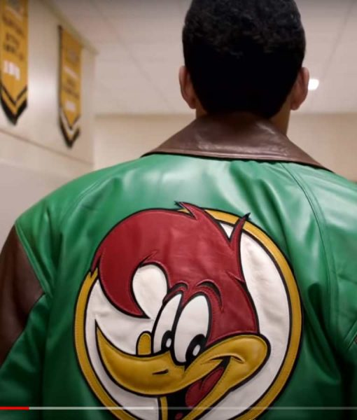 Young Rock Woody Woodpecker Bomber Jacket