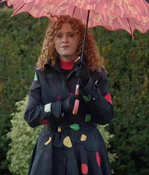 Zoey's Extraordinary Playlist Bernadette Peters long Coat