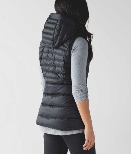 Zoey's Extraordinary Playlist Maggie Clarke Black Hooded Vest