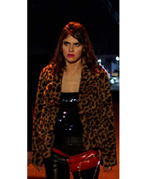 1 Night In San Diego Kelsey Leopard Jacket