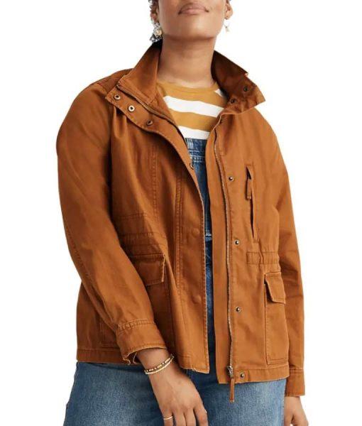 9-1-1 Season 04 Maddie Kendall Cotton Jacket