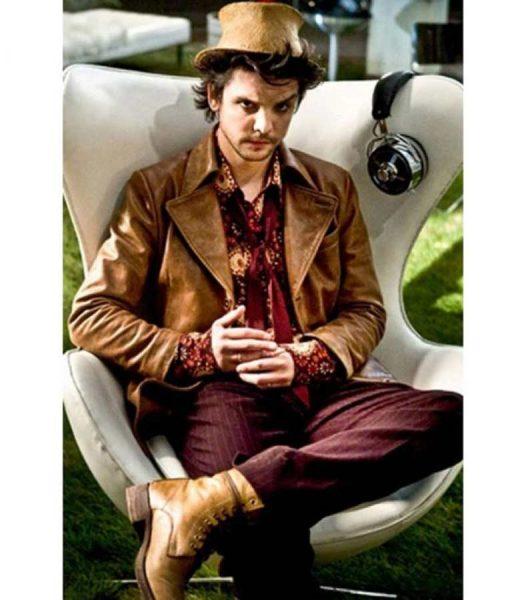 Alice Hatter Leather Blazer Jacket